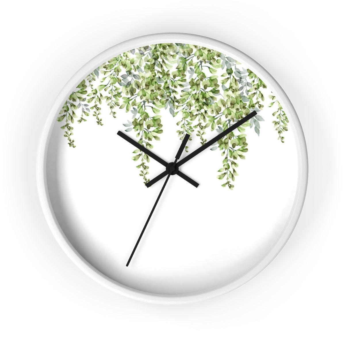 Falling Leaves Wall Clock - Liz Kapiloto Art & Design