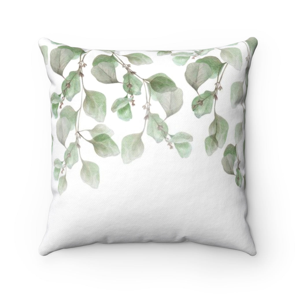 Falling Leaves Throw Pillow - Liz Kapiloto Art & Design