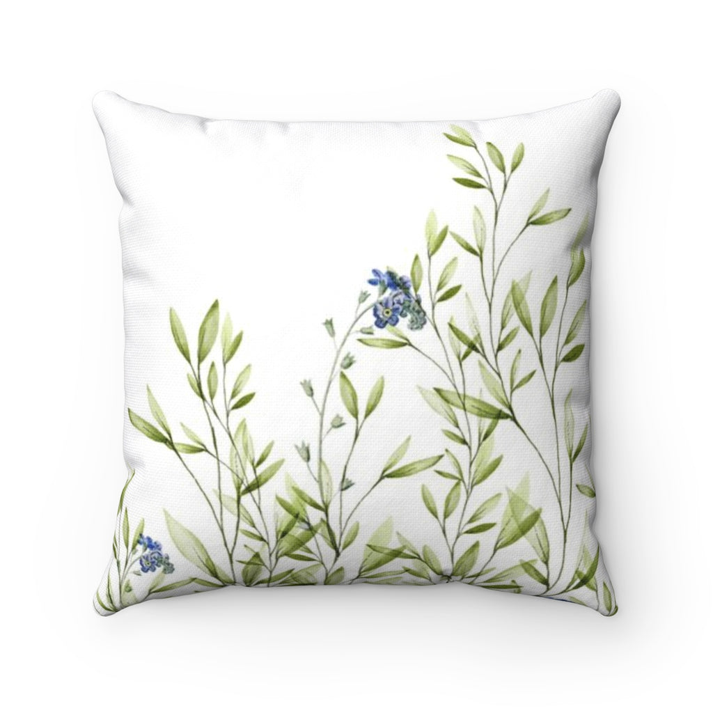 Botanical Throw Pillow - Liz Kapiloto Art & Design