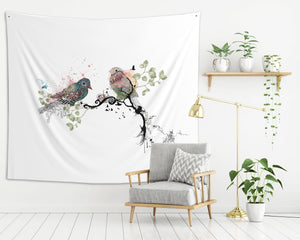 Birds Wall Tapestry