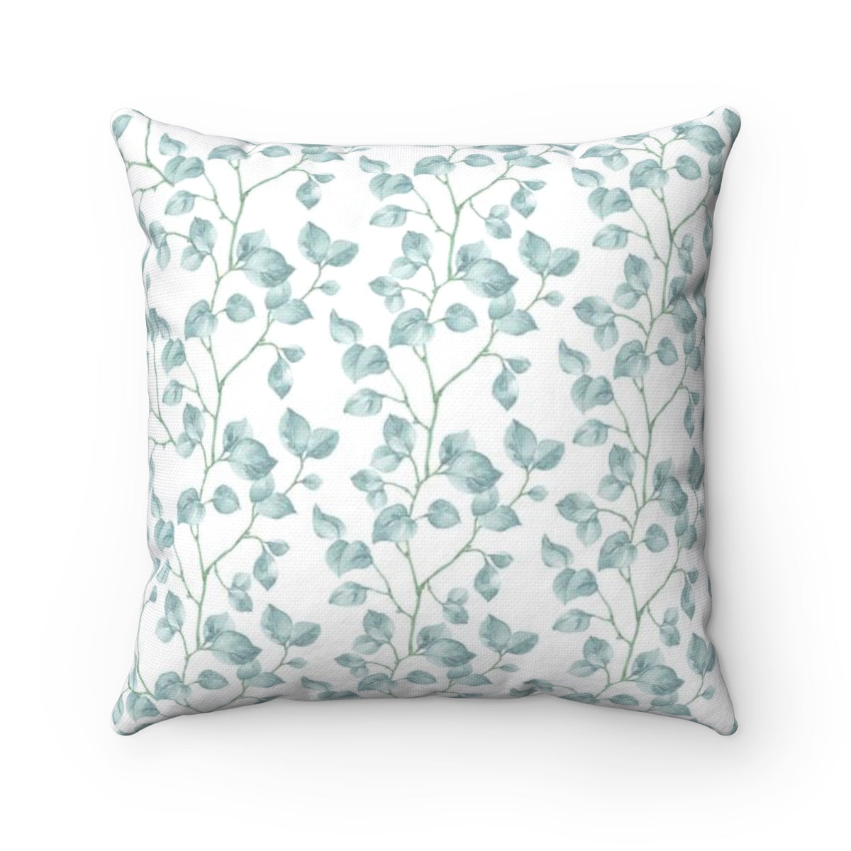 light blue decorative pillow - Liz Kapiloto Art & Design