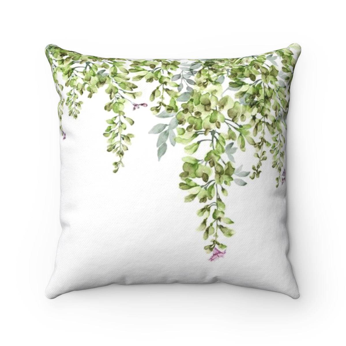Leaves Throw Pillow - Liz Kapiloto Art & Design