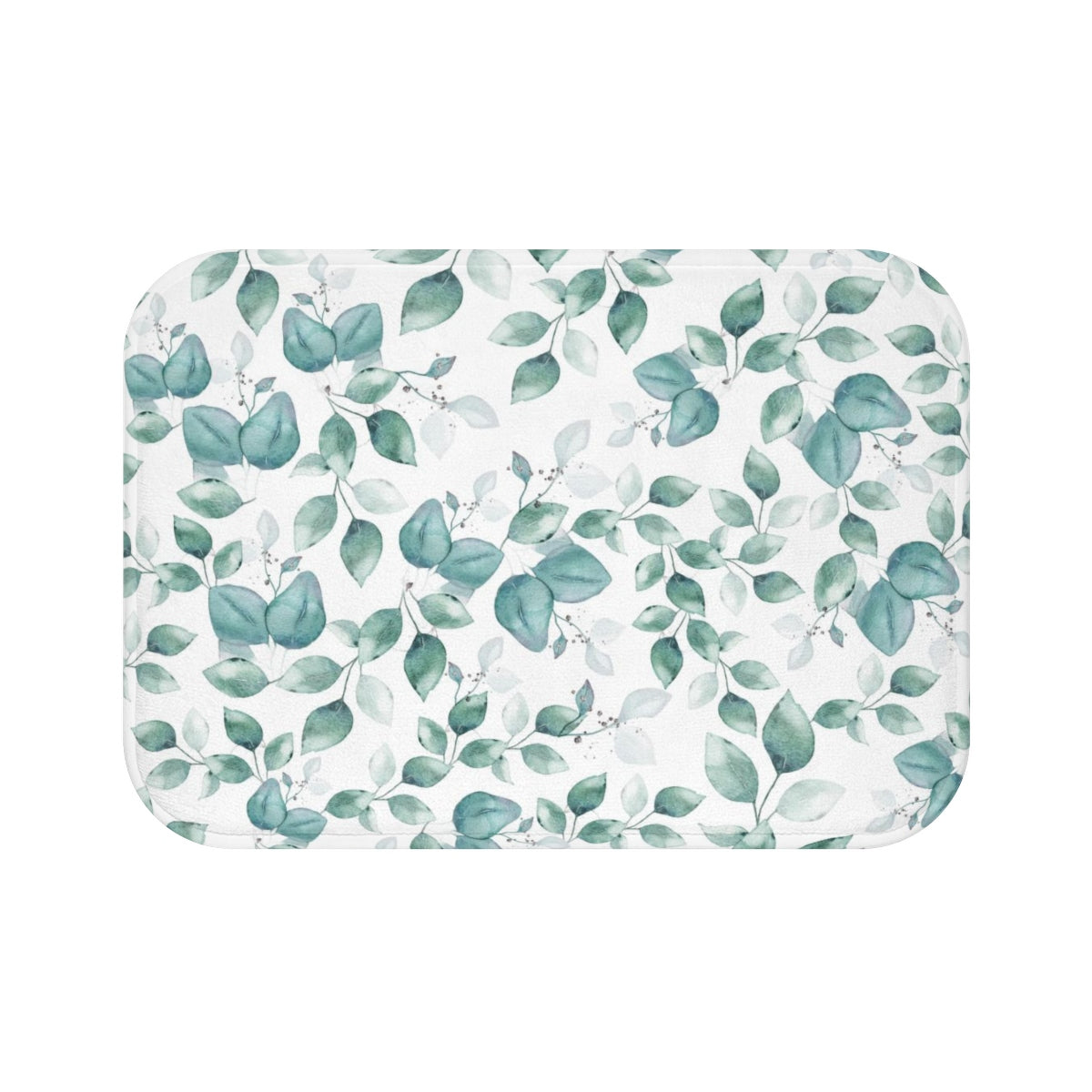 Light Blue Bath Mat - Liz Kapiloto Art & Design