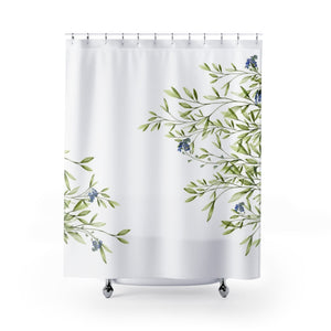 Leaf Shower Curtain - Liz Kapiloto Art & Design