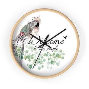 Parrot Wall Clock - Liz Kapiloto Art & Design