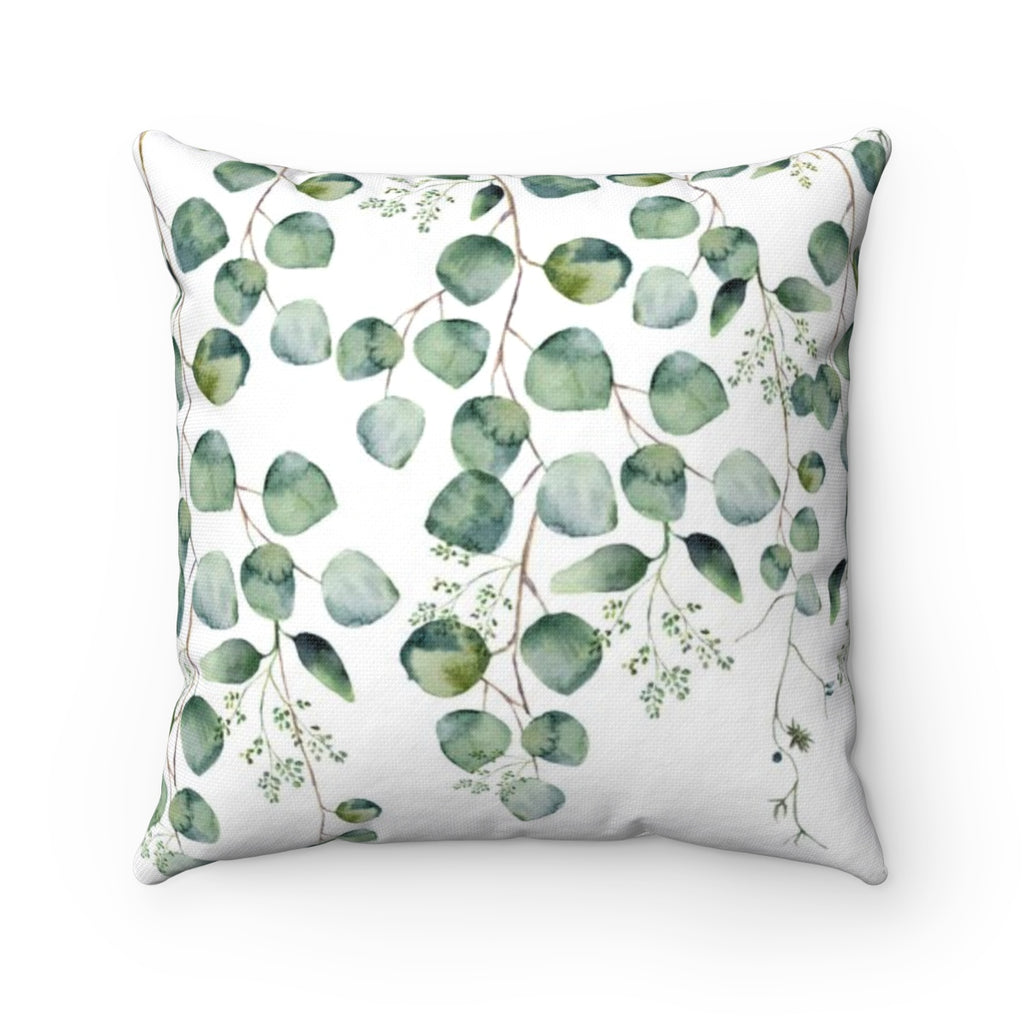 Large Leaf Throw Pillow - Liz Kapiloto Art & Design