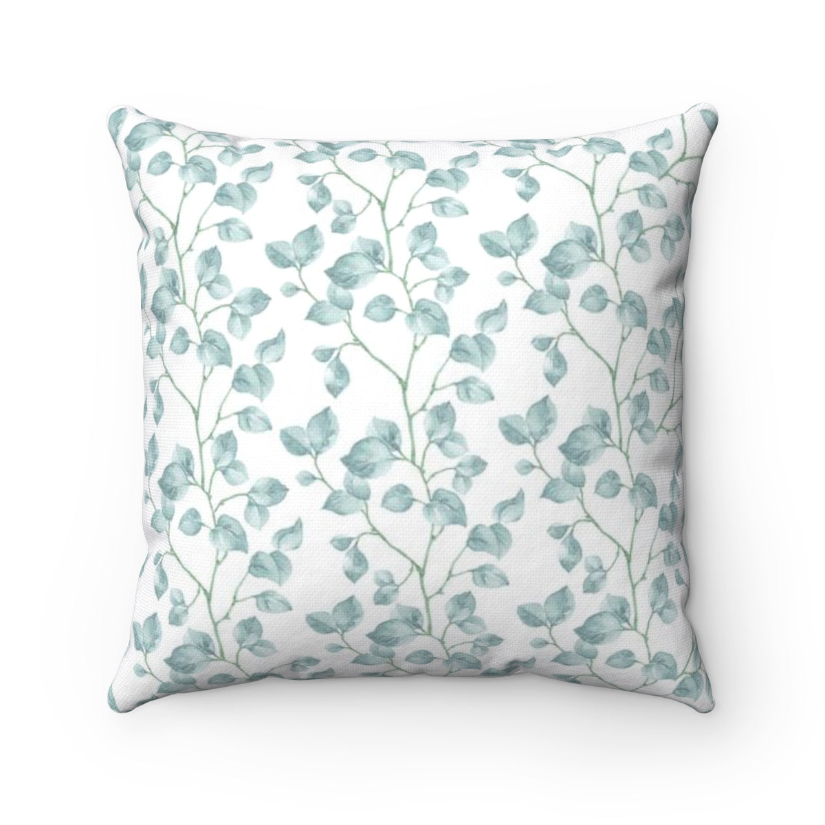 Light Blue Throw Pillow - Liz Kapiloto Art & Design