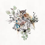 Watercolor Owl Illustration - Liz Kapiloto Art & Design
