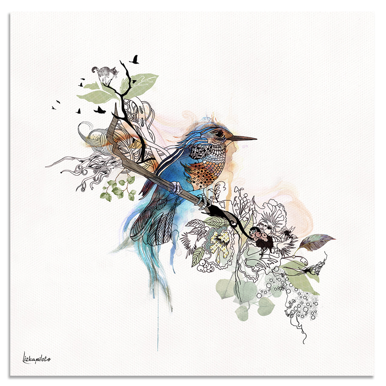 Bluebird Art - Liz Kapiloto Art & Design