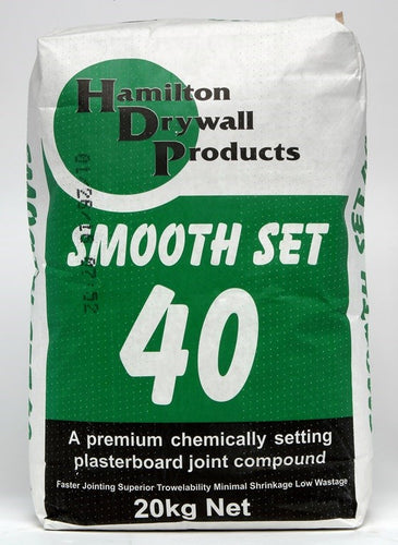 Hamilton Smoothset 40 20Kg Bag