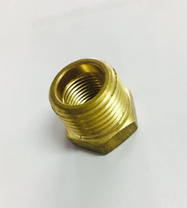 Can-Am Brass Hex Bushing 1/2 x 3/8in