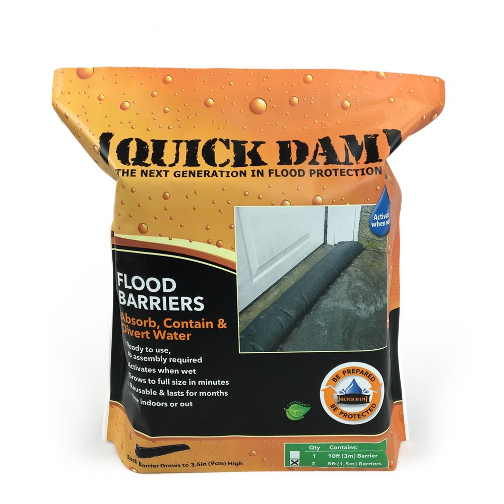 Quickdam Flood Barrier 150mm x1.5m (2)