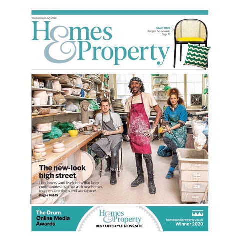 Freya Bramble Carter in Evening Standard Homes & Property