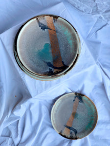 Enchanted Waterfall - Set of 3 Plates