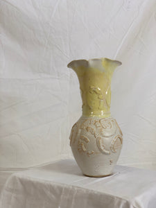 Wiggle Small Yellow Vase