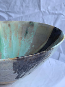 Enchanted Waterfall - Medium Salad Bowl