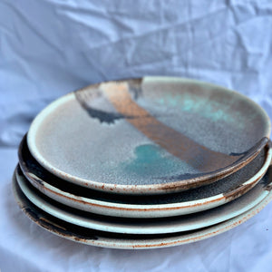 Enchanted Waterfall - Set of 4 Plates