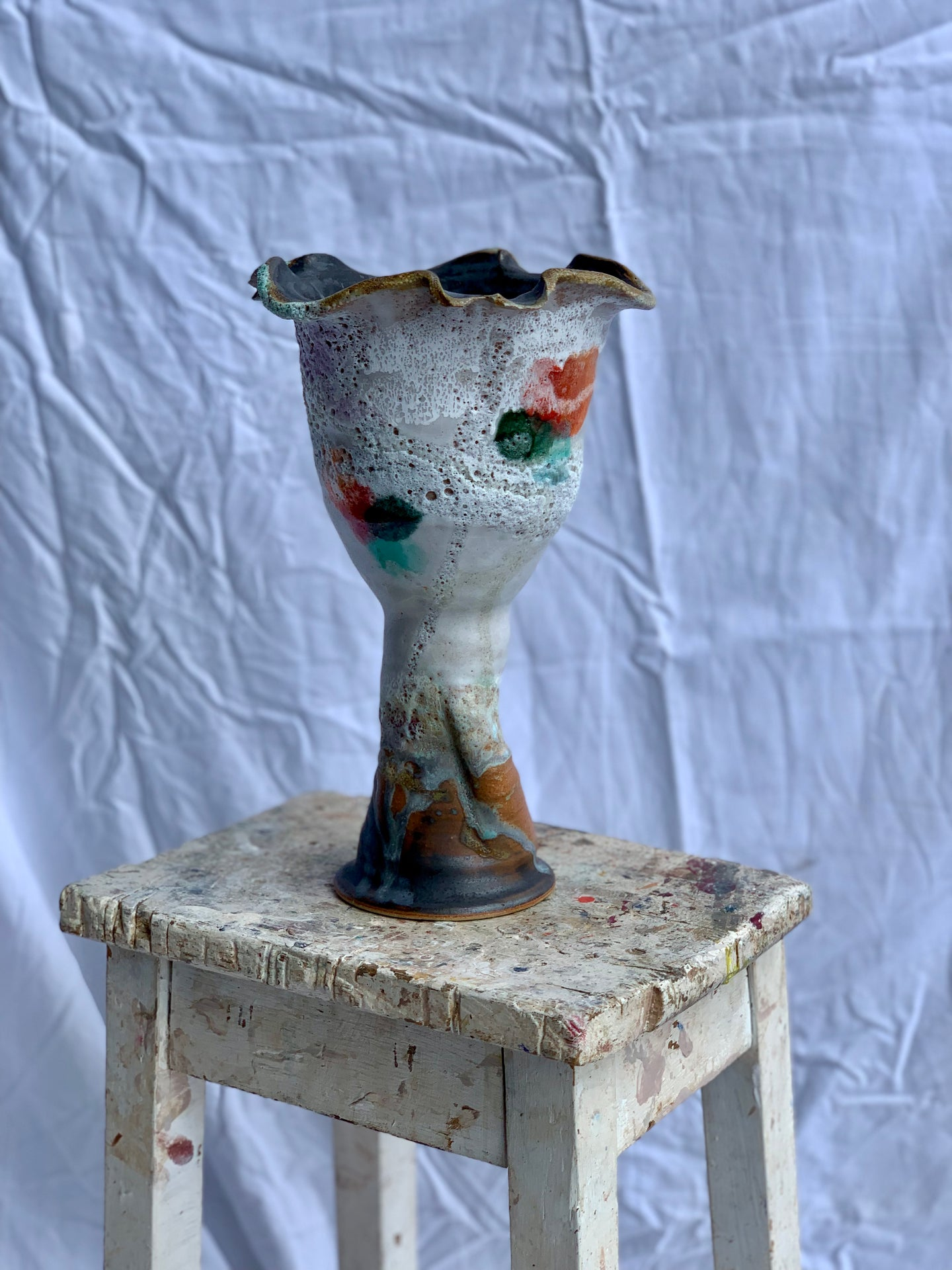 Fruitfully In Bloom - Flower Pot/Goblet