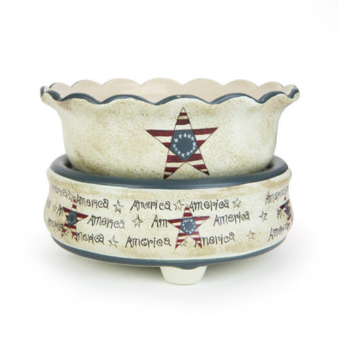 Americana Combo Warmer - Fisher Creek Candles