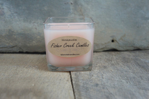 Cube Candle Cotton Wick