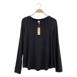 ADULT LONG SLEEVE TOP - BLACK