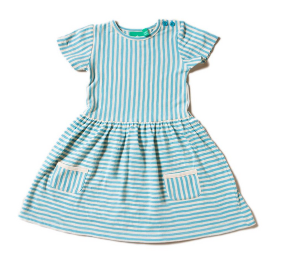 DRESS - BLUE STRIPES