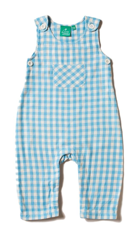 OVERALL - BLUE GINGHAM