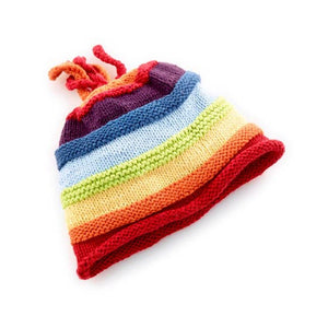 KNIT HAT - RAINBOW