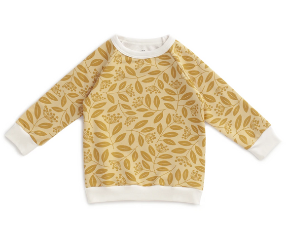 SWEATER - OCHRE VINES
