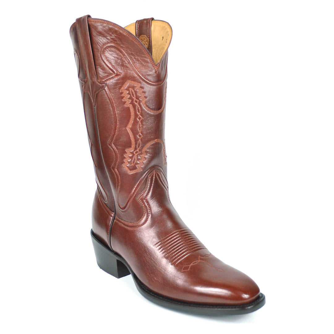 e8a29377cc0 Santana Goat French Toe Boots- Budapest Brown - Gavel Boots