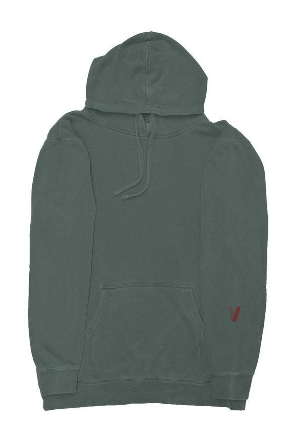 Makeda Pigment-Dyed Pullover Hoodie