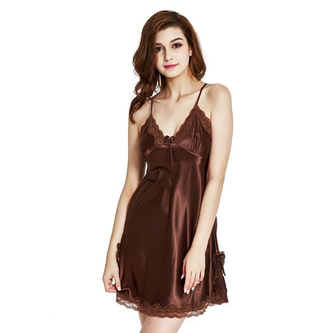 Women Nightgown Lingerie Sexy Nightdress