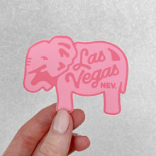 Load image into Gallery viewer, Pink Elephant Sticker