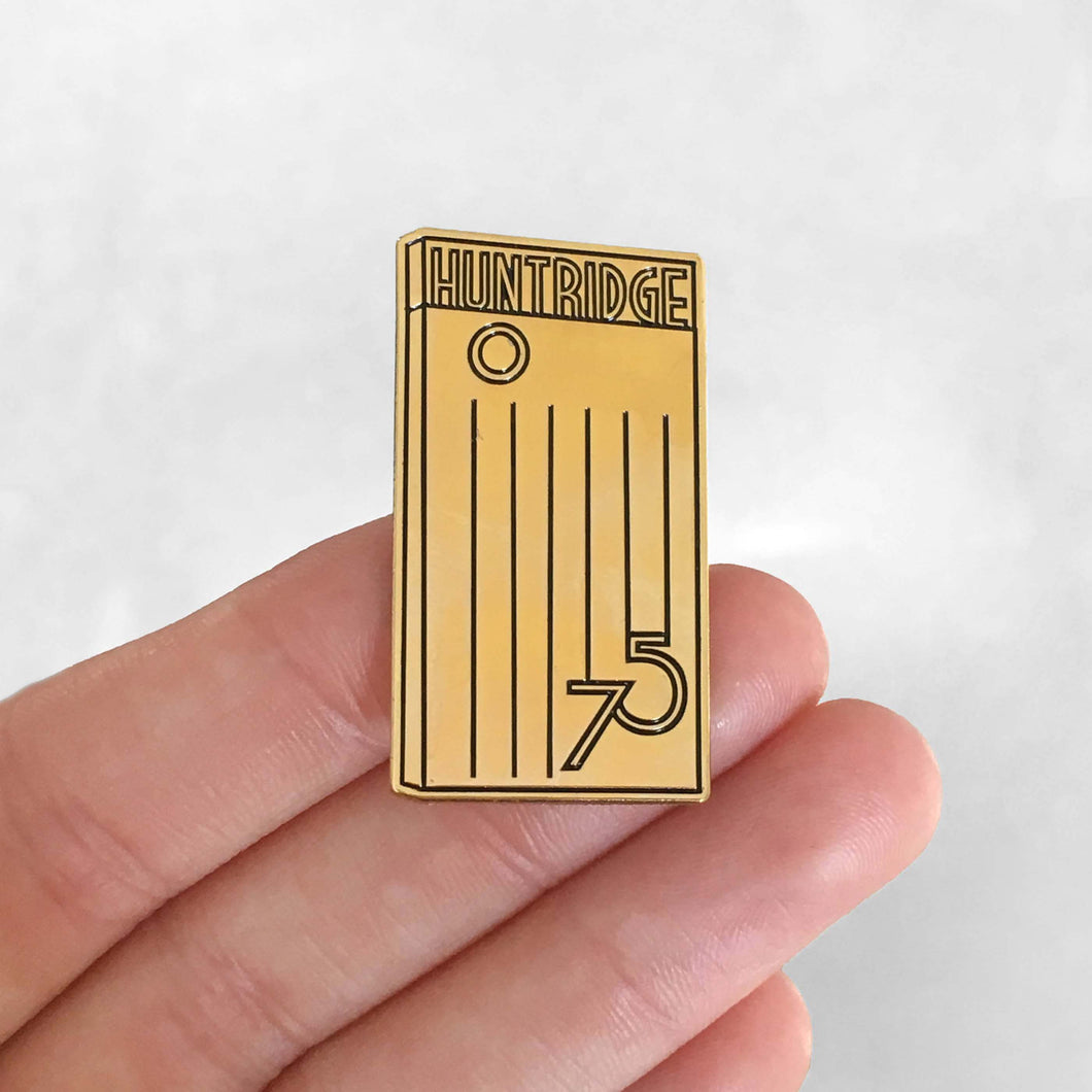 Huntridge 75th Anniversary Pin