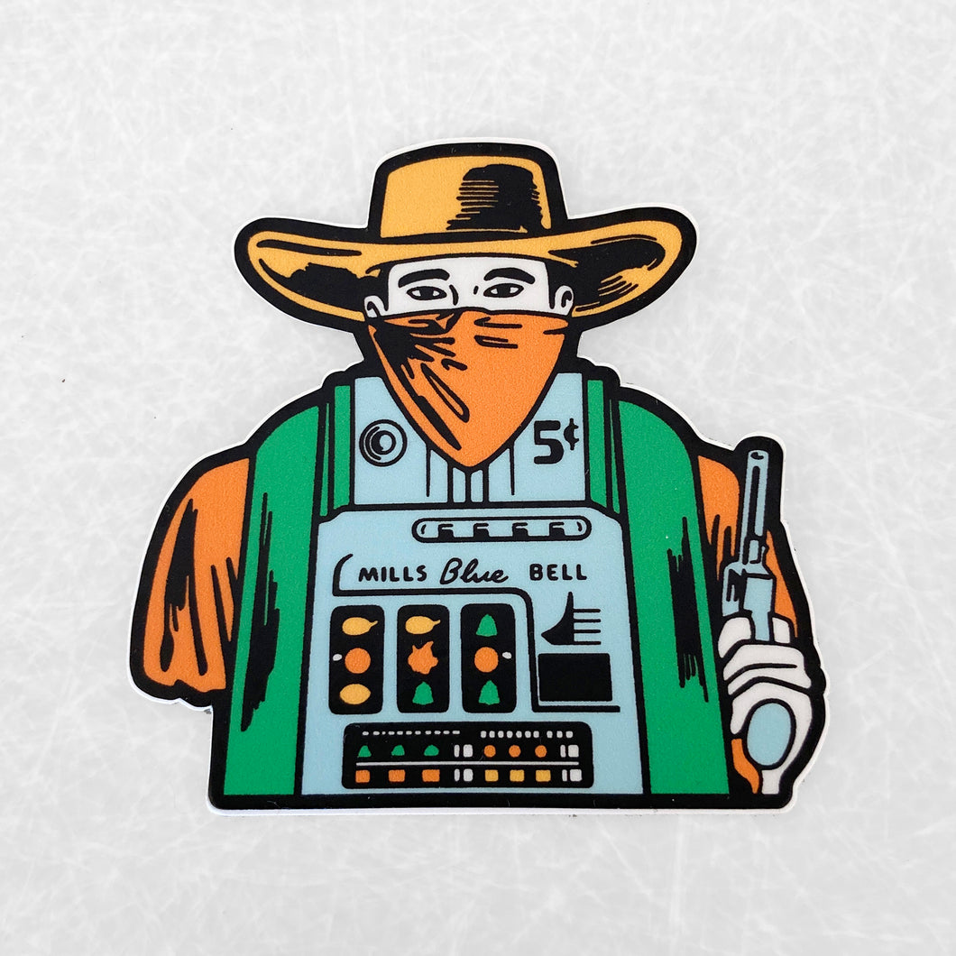 One Armed Bandit Sticker