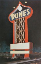 Load image into Gallery viewer, Dunes Las Vegas Sign