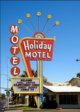 Load image into Gallery viewer, Holiday Motel Sign