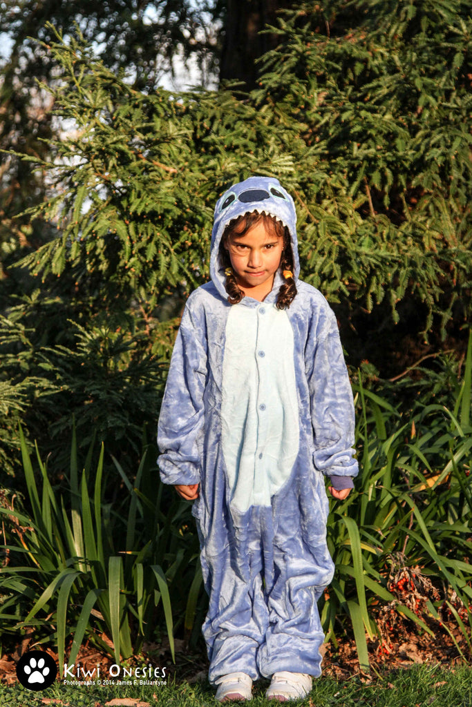 Kids Stitch (Blue) Onesie