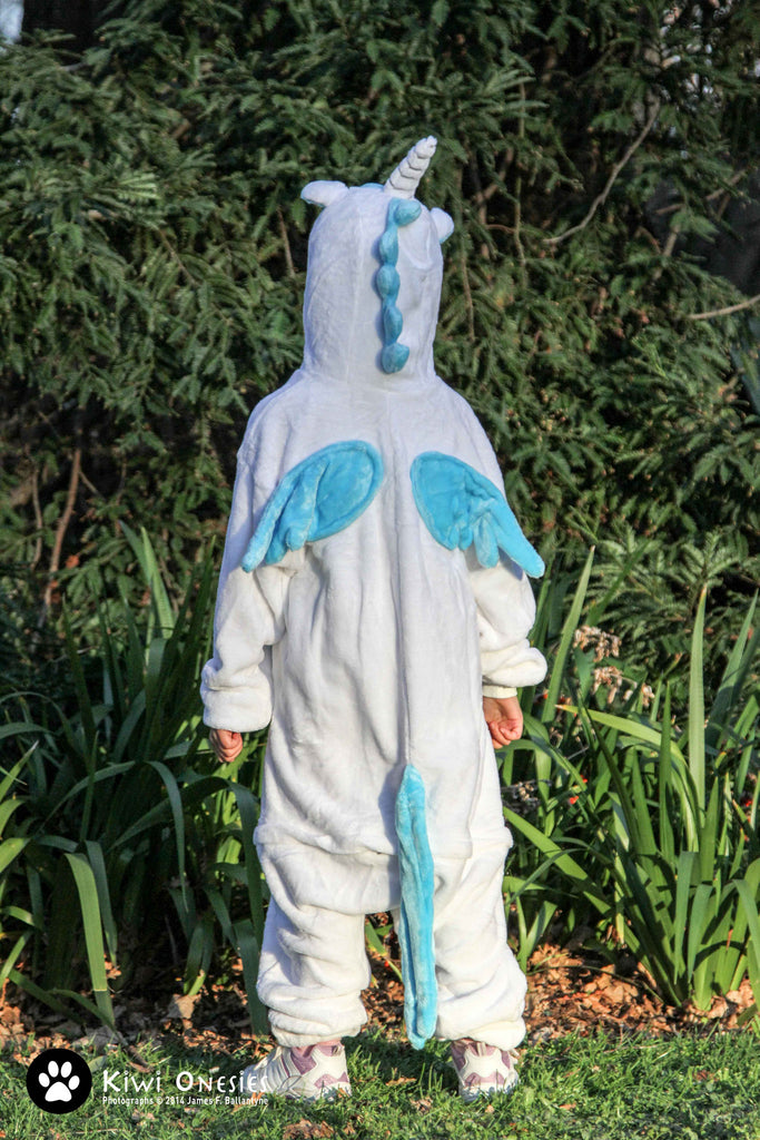 Kids Unicorn (Blue) Onesie
