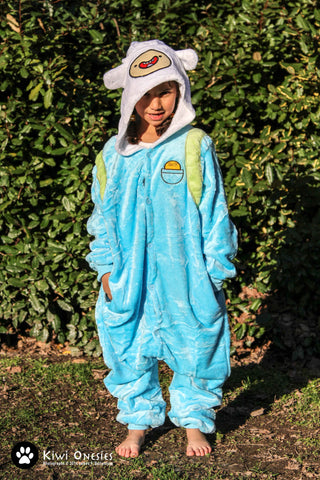 Kids Finn (Adventure Time) Onesie