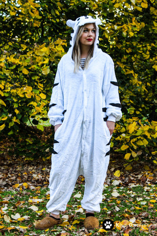 White Tiger Onesie