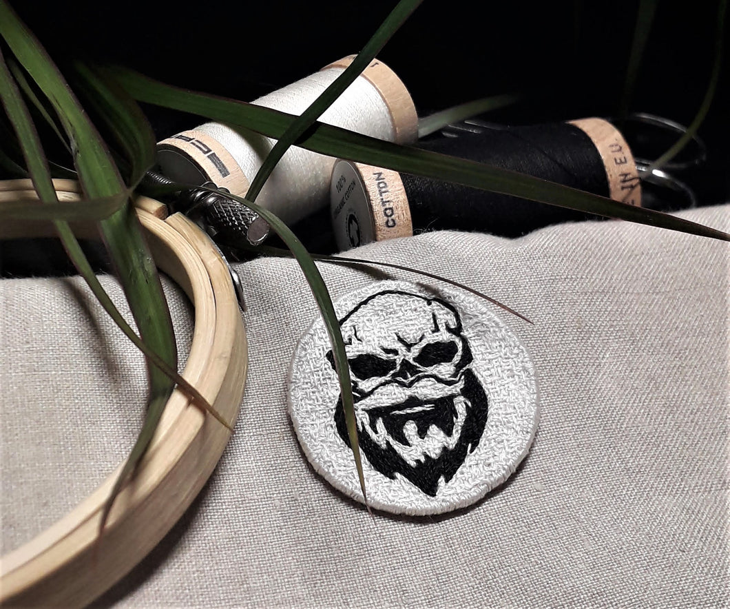 HANDMADE embroidered Logo
