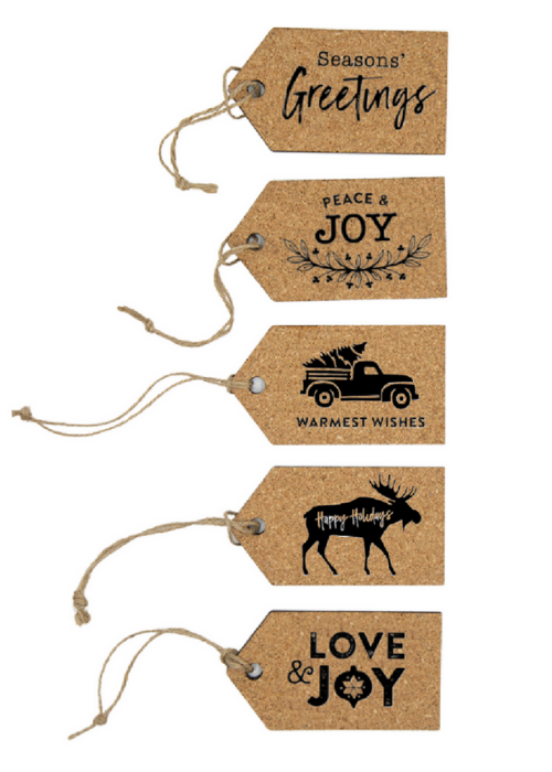 Reusable gift tags