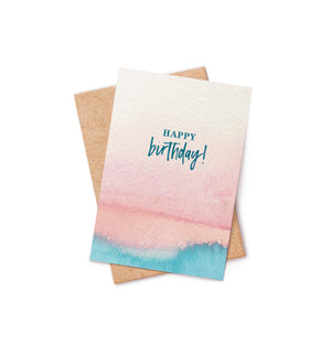 Happy Birthday Bath Bomb Card