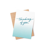 Thinking of You Bath Bomb Card