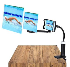 "Mobile Phone Projection 3D Magnifier 12"" Screen with Stand Holder"
