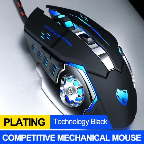 Ninja Dragons Professional 8D 8D 3200DPI Adjustable Wired Optical LED Gaming Mouse