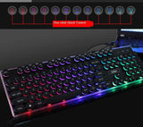 Ninja Dragons BX9 LED Backlight Gaming Keyboard Mouse Set