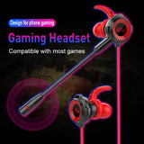 Ninja Dragons G2000 3.5mm Gaming Earphones with Extension Microphone