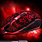 Professional 4000 DPI 6 Buttons Gaming Mouse